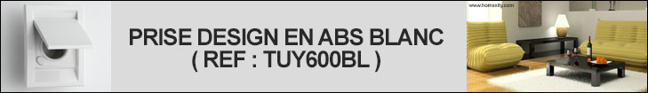 PRISE ASPIRATION CENTRALISEE DESIGN TUY600