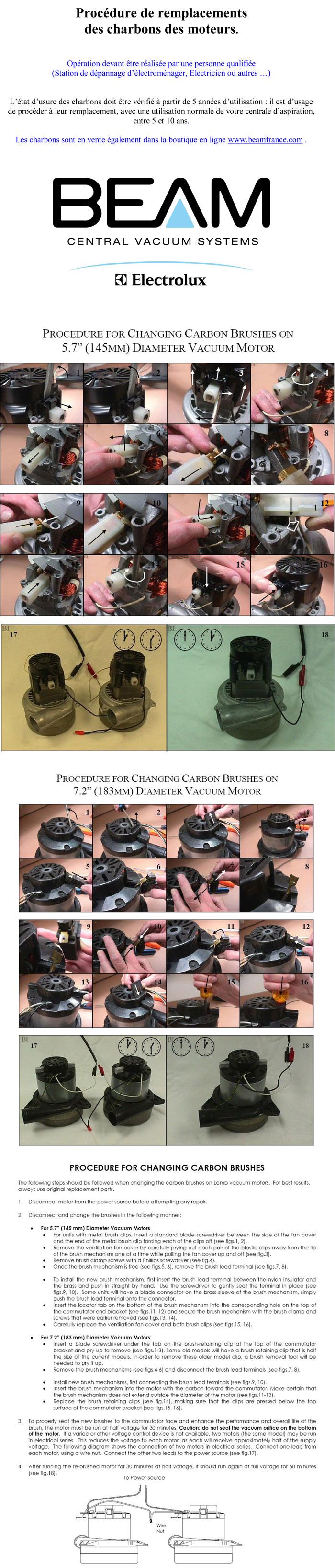 procédure remplacement charbon